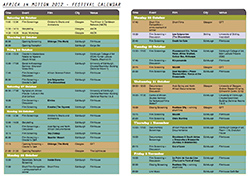 Download the 2012 Printable Schedule
